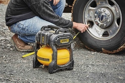 air compressor for filling tires