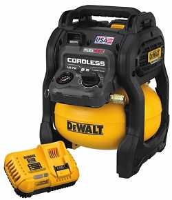 dewalt battery operated air compressor